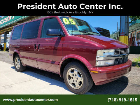 2005 Chevrolet Astro for sale at President Auto Center Inc. in Brooklyn NY