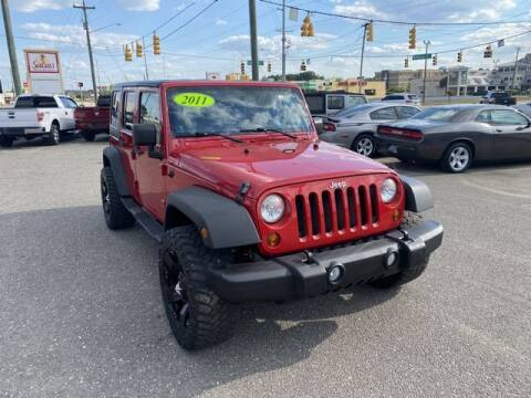 2011 Jeep Wrangler Unlimited for sale at Sell Your Car Today in Fayetteville NC