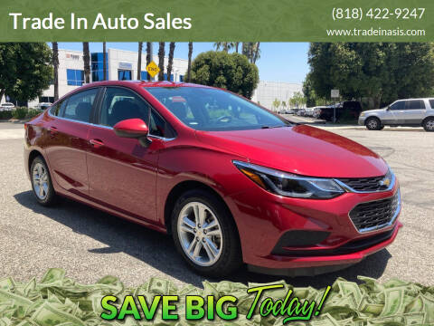 2017 Chevrolet Cruze for sale at Trade In Auto Sales in Van Nuys CA