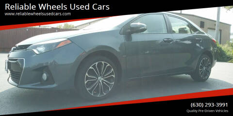2015 Toyota Corolla for sale at Reliable Wheels Used Cars in West Chicago IL