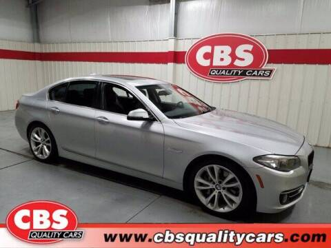 2016 BMW 5 Series for sale at CBS Quality Cars in Durham NC