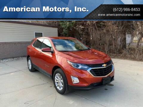 2020 Chevrolet Equinox for sale at American Motors, Inc. in Farmington MN