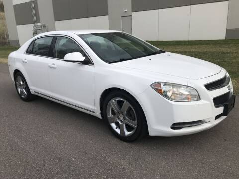 2011 Chevrolet Malibu for sale at Angies Auto Sales LLC in Newport MN