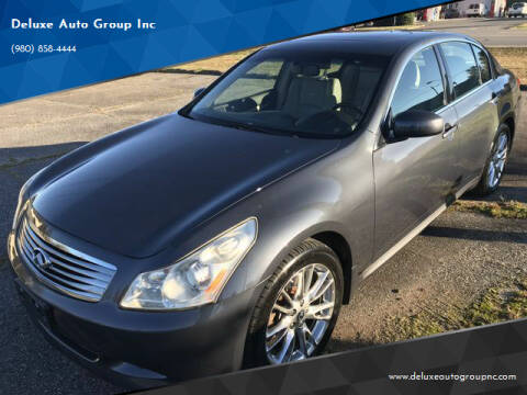 2008 Infiniti G35 for sale at Deluxe Auto Group Inc in Conover NC