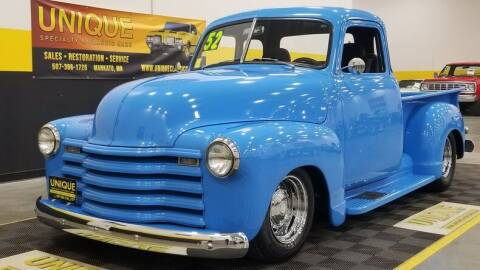 1952 Chevrolet 3100 for sale at UNIQUE SPECIALTY & CLASSICS in Mankato MN