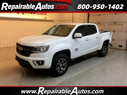 2017 Chevrolet Colorado for sale at Ken's Auto in Strasburg ND