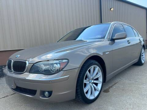2007 BMW 7 Series for sale at Prime Auto Sales in Uniontown OH
