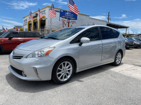 2014 Toyota Prius v for sale at INTERNATIONAL AUTO BROKERS INC in Hollywood FL