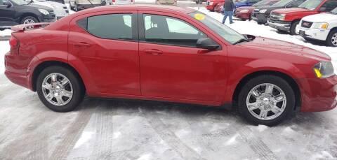2013 Dodge Avenger for sale at Superior Motors in Mount Morris MI