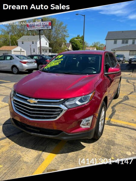 2019 Chevrolet Equinox for sale at Dream Auto Sales in South Milwaukee WI