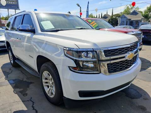 2015 Chevrolet Tahoe for sale at Rey's Auto Sales in Stockton CA