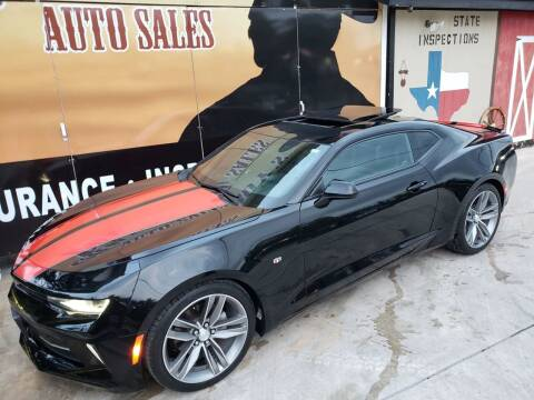 2016 Chevrolet Camaro for sale at Cowboy's Auto Sales in San Antonio TX