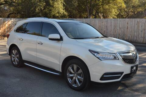 2015 Acura MDX for sale at Coleman Auto Group in Austin TX