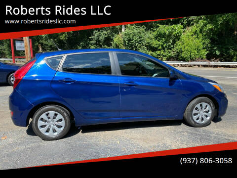 2017 Hyundai Accent for sale at Roberts Rides LLC in Franklin OH
