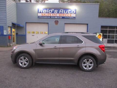 2012 Chevrolet Equinox for sale at Reid's Auto Sales & Service in Emporium PA