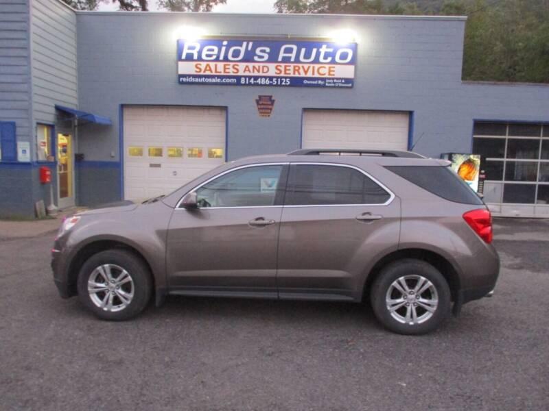 2012 Chevrolet Equinox for sale at Reid's Auto Sales & Service in Emporium PA