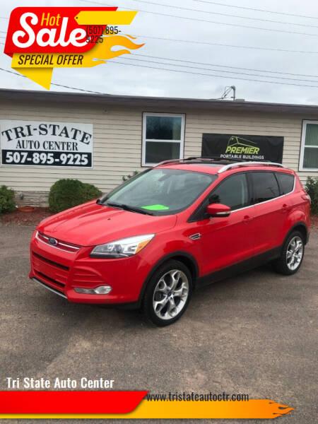 2013 Ford Escape for sale at Tri State Auto Center in La Crescent MN