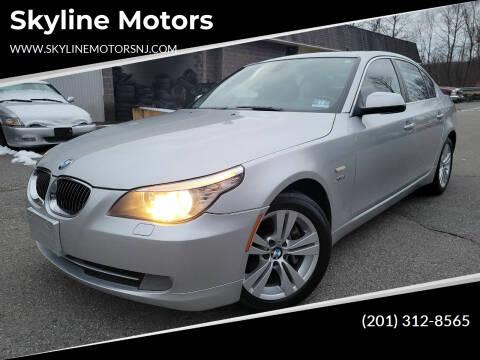 2010 BMW 5 Series for sale at Skyline Motors in Ringwood NJ