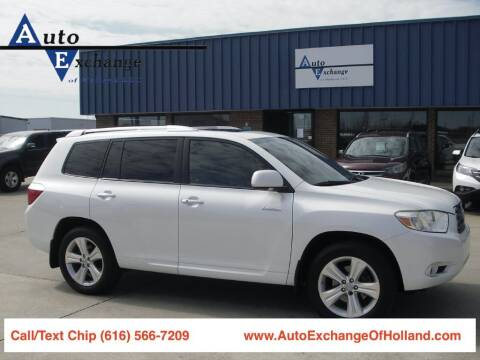 2008 Toyota Highlander for sale at Auto Exchange Of Holland in Holland MI