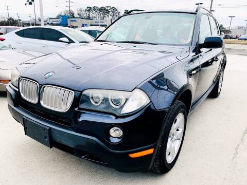 2008 BMW X3 for sale at Auto Space LLC in Norfolk VA
