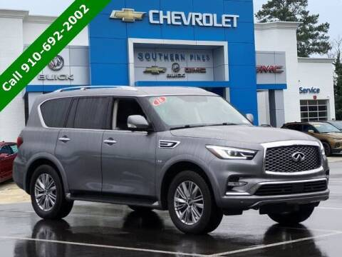 2018 Infiniti QX80 for sale at PHIL SMITH AUTOMOTIVE GROUP - SOUTHERN PINES GM in Southern Pines NC