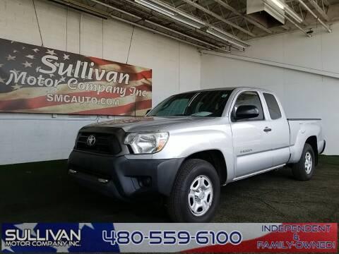 2012 Toyota Tacoma for sale at SULLIVAN MOTOR COMPANY INC. in Mesa AZ