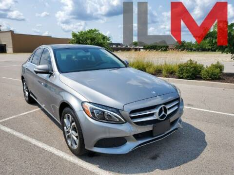 2015 Mercedes-Benz C-Class for sale at INDY LUXURY MOTORSPORTS in Fishers IN