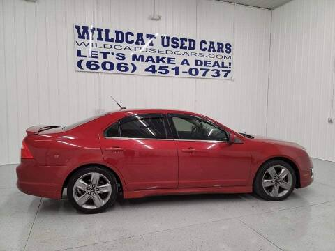 2010 Ford Fusion for sale at Wildcat Used Cars in Somerset KY