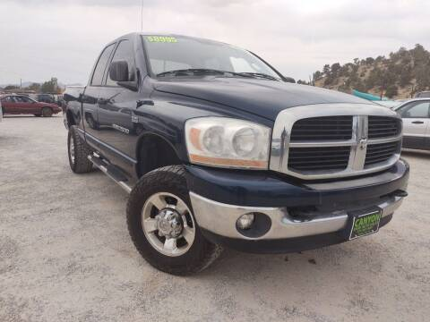 2006 Dodge Ram Pickup 2500 for sale at Canyon View Auto Sales in Cedar City UT
