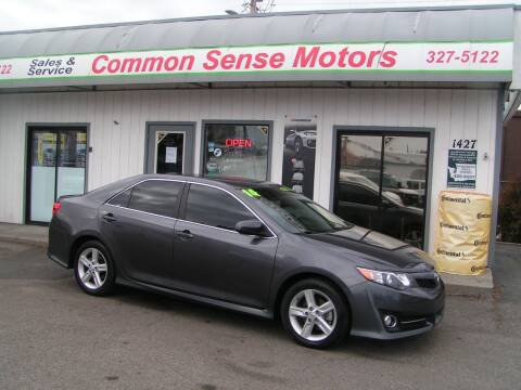 2014 Toyota Camry for sale at Common Sense Motors in Spokane WA
