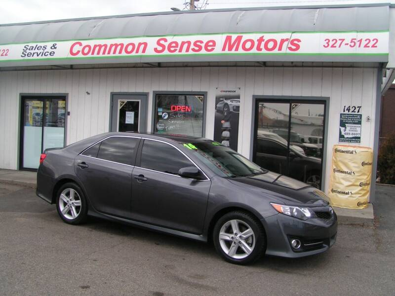 2014 Toyota Camry for sale at Common Sense Motors in Spokane WA