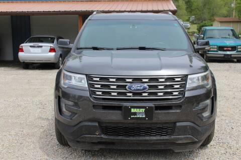 2017 Ford Explorer for sale at Bailey & Sons Motor Co in Lyndon KS