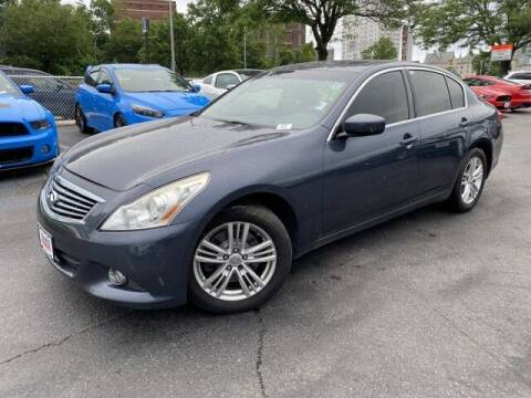 2012 Infiniti G37 Sedan for sale at Sonias Auto Sales in Worcester MA