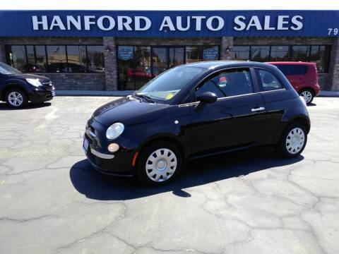 2013 FIAT 500 for sale at Hanford Auto Sales in Hanford CA