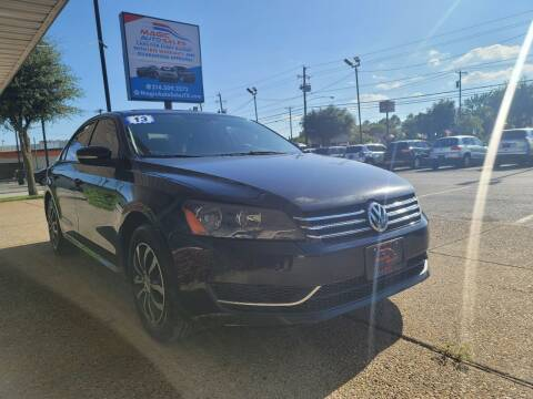2015 Volkswagen Passat for sale at Magic Auto Sales - Cash Cars in Dallas TX