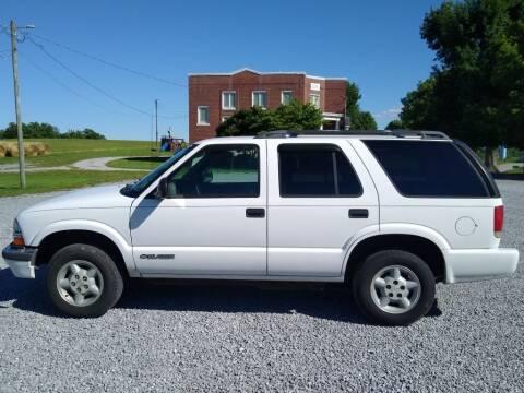 1998 Chevrolet Blazer for sale at Dealz on Wheelz in Ewing KY