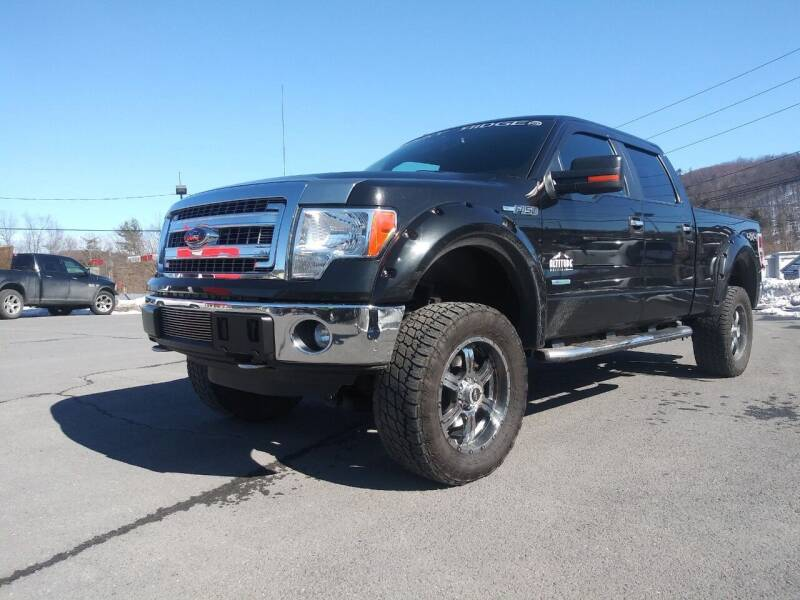 2013 Ford F-150 for sale at Mulligan's Auto Exchange LLC in Paxinos PA