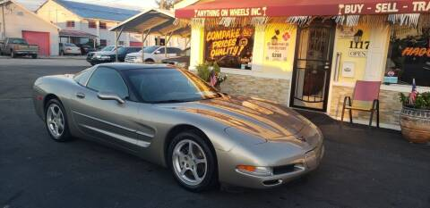 2000 Chevrolet Corvette for sale at ANYTHING ON WHEELS INC in Deland FL
