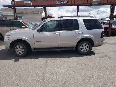 2008 Ford Explorer for sale at Creekside Auto Sales in Pocatello ID