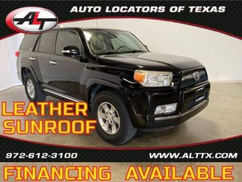 2010 Toyota 4Runner for sale at AUTO LOCATORS OF TEXAS in Plano TX