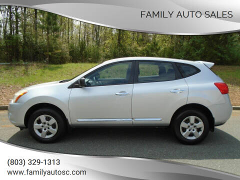 2012 Nissan Rogue for sale at Family Auto Sales in Rock Hill SC