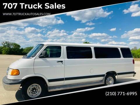 2001 Dodge Ram Wagon for sale at 707 Truck Sales in San Antonio TX