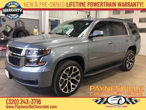 2019 Chevrolet Tahoe for sale at Paynesville Chevrolet - Buick in Paynesville MN