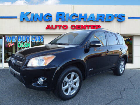 2010 Toyota RAV4 for sale at KING RICHARDS AUTO CENTER in East Providence RI