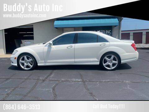 2013 Mercedes-Benz S-Class for sale at Buddy's Auto Inc in Pendleton, SC