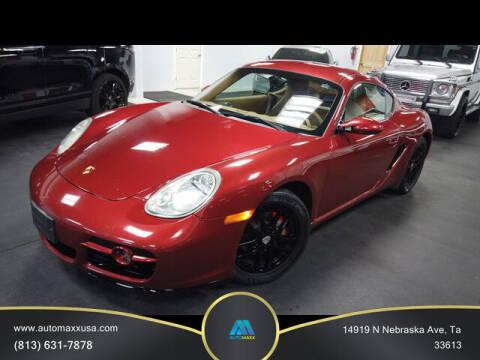 2008 Porsche Cayman for sale at Automaxx in Tampa FL
