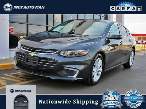2018 Chevrolet Malibu for sale at INDY AUTO MAN in Indianapolis IN