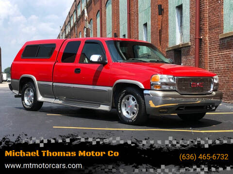 1999 GMC Sierra 1500 for sale at Michael Thomas Motor Co in Saint Charles MO