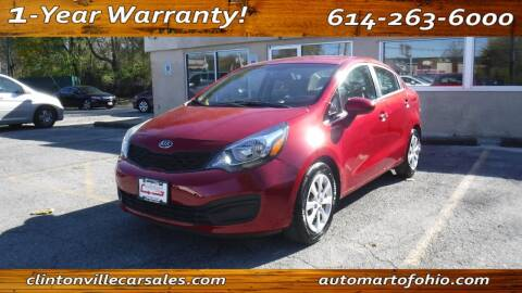 2013 Kia Rio for sale at Clintonville Car Sales - AutoMart of Ohio in Columbus OH