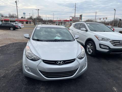 2013 Hyundai Elantra for sale at 733 Cars in Oklahoma City OK